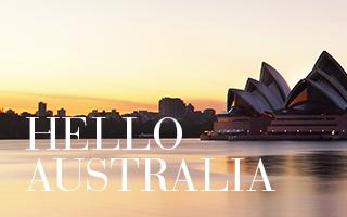 Med början i Australien
